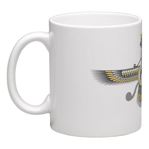 Gold Faravahar Mug