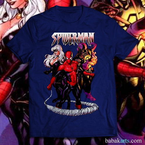 Spiderman T-shirt, Spiderman Tee Shirt/ Comics t shirt