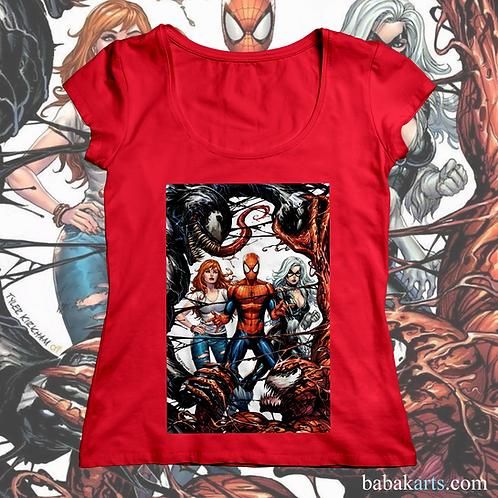 Spiderman vs VenomT-shirt, Spiderman Tee Shirt/ Marvel Superheroes t shi