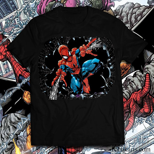 Spiderman T-shirt, Spiderman Comics t shirt