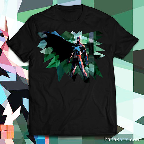 Batman Abstract T-Shirt - Batman comics shirts