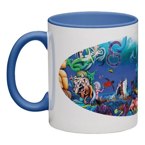 Mermaid in Wonderland Mug