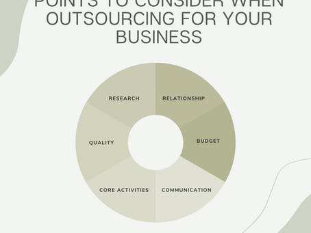 Thinking of outsourcing for your business?