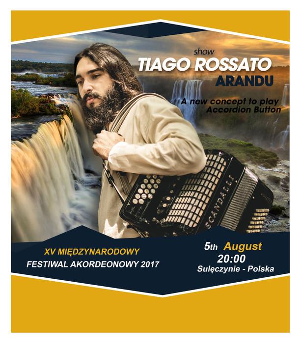 Show Tiago Rossato na Polônia