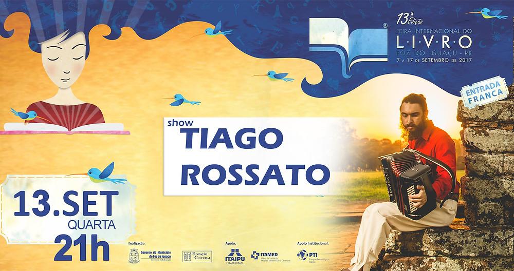 Feira Internacional do Livro Tiago Rossato Acordeon