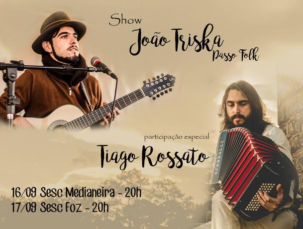 Show João Triska - Passo Folk - Part. Tiago Rossato Acordeon Gaita Ponto