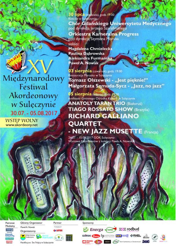 XV Międzynarodowy Festiwal Akordeonowy Sulęczynie