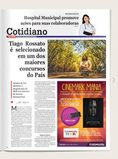 Tiago Rossato é selecionado em um dos maiores editais do país.