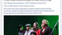 Acordeonista brasileiro é aplaudido em pé no país do Acordeon.