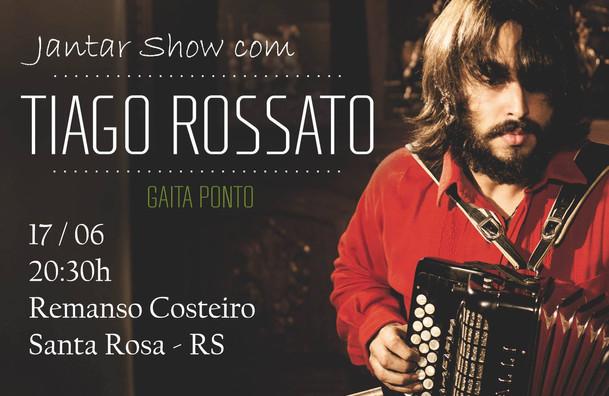 Show no Remanso Costeiro - Tiago Rossato Acordeon Gaita Ponto