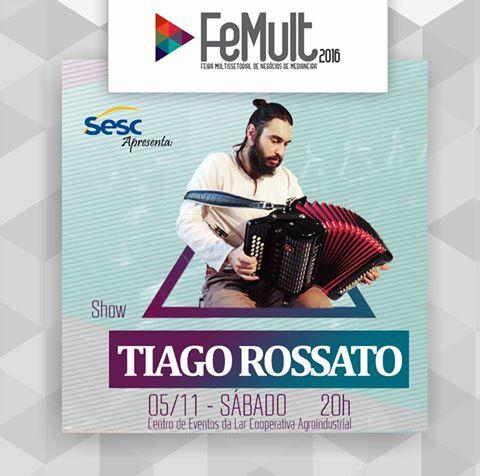 Femult 2016 - Show Tiago Rossato Acordeon