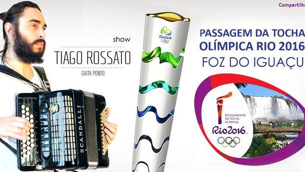 Passagem Tocha Olímpica Rio 2016 por Foz do Iguaçu.