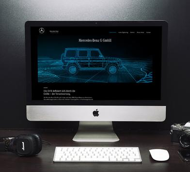 Website - Mercedes-Benz G GmbH