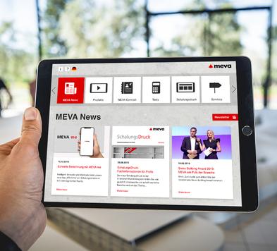 AR App - MEVA Schalungssysteme