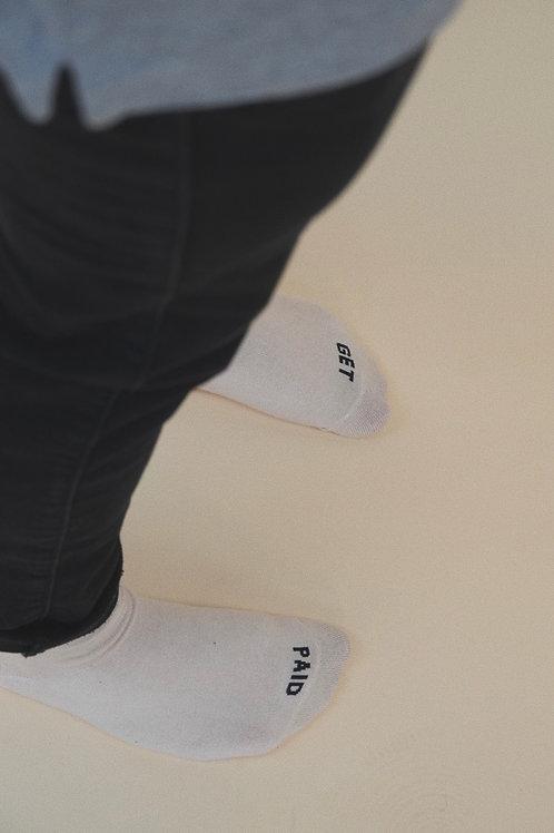 """Get Paid"" Socks"
