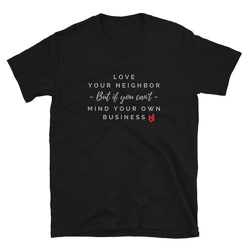 Love Your Neighbor Men's Short-Sleeve T-Shirt