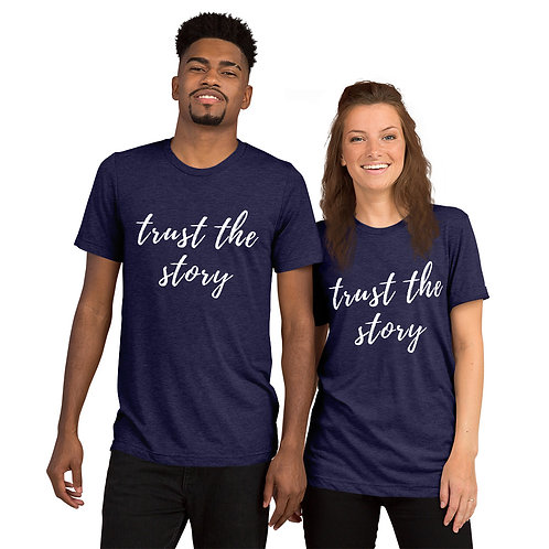 Trust the story Short sleeve t-shirt (more colors avail)