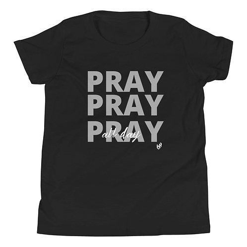 Youth GIRLS Pray All Day T-Shirt