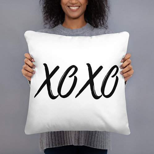 XOXO Throw Pillow