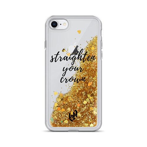Straighten Your Crown Iphone Case