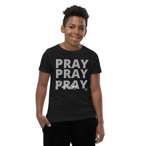 Youth BOYS Pray All Day T-Shirt