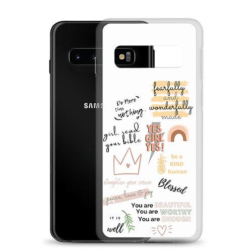 Power Words Samsung Case