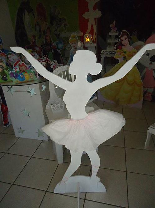 0002 - Bailarina Molde Para Imprimir