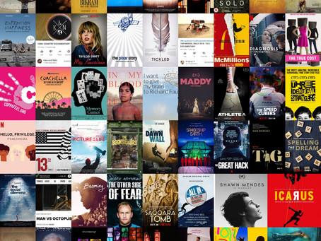 The journey of watching 52 documentaries in 52 weeks