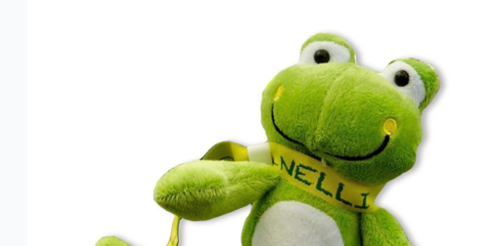 Mets en scène Nelli la grenouille