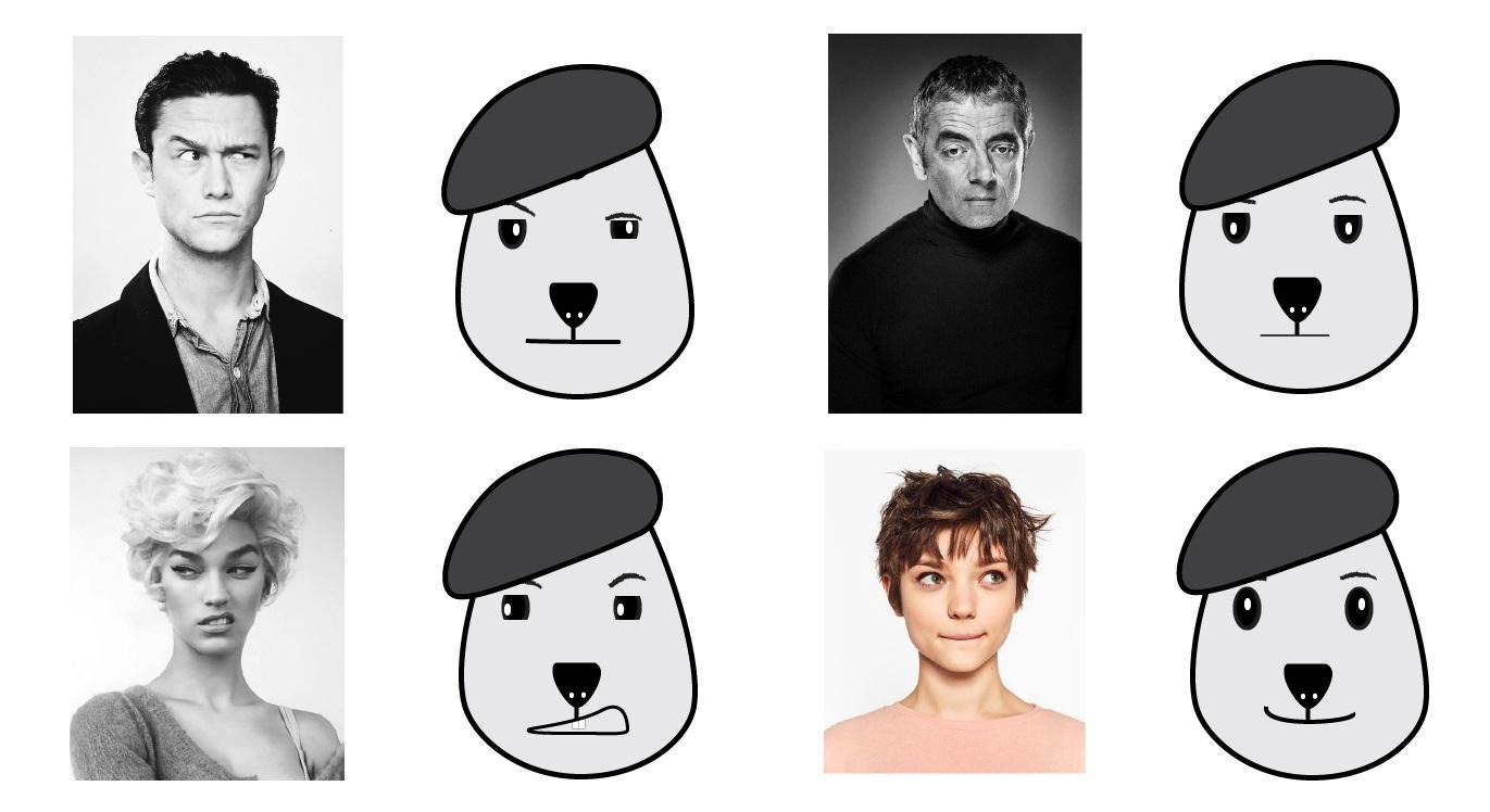 הבעות פנים - מיטל טרגרמן