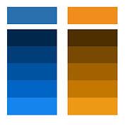 גלגל צבעים - צבעי מונוכרום