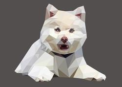 LOW POLY כלב