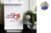 המלצה, לוגו,ילדים, גן, לב, פרח