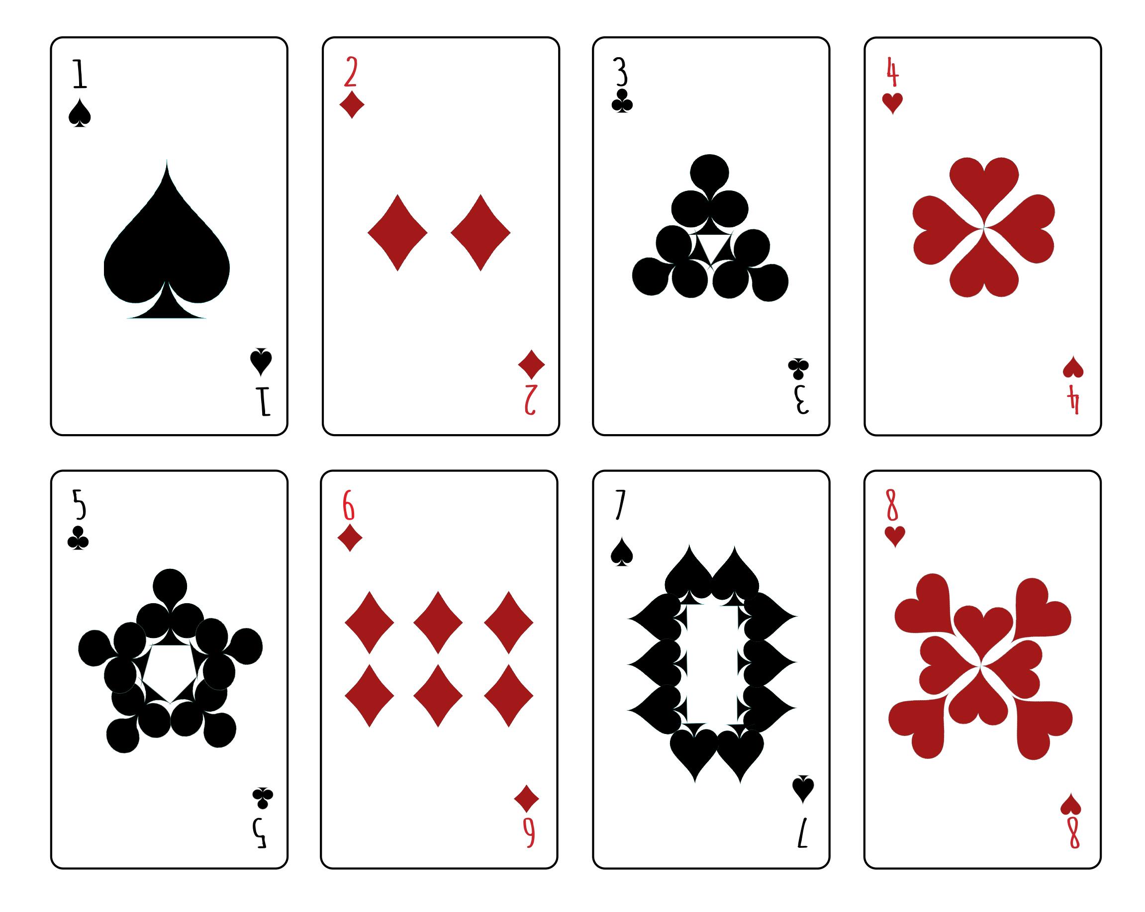 שני בן שלוש - חבילת קלפים