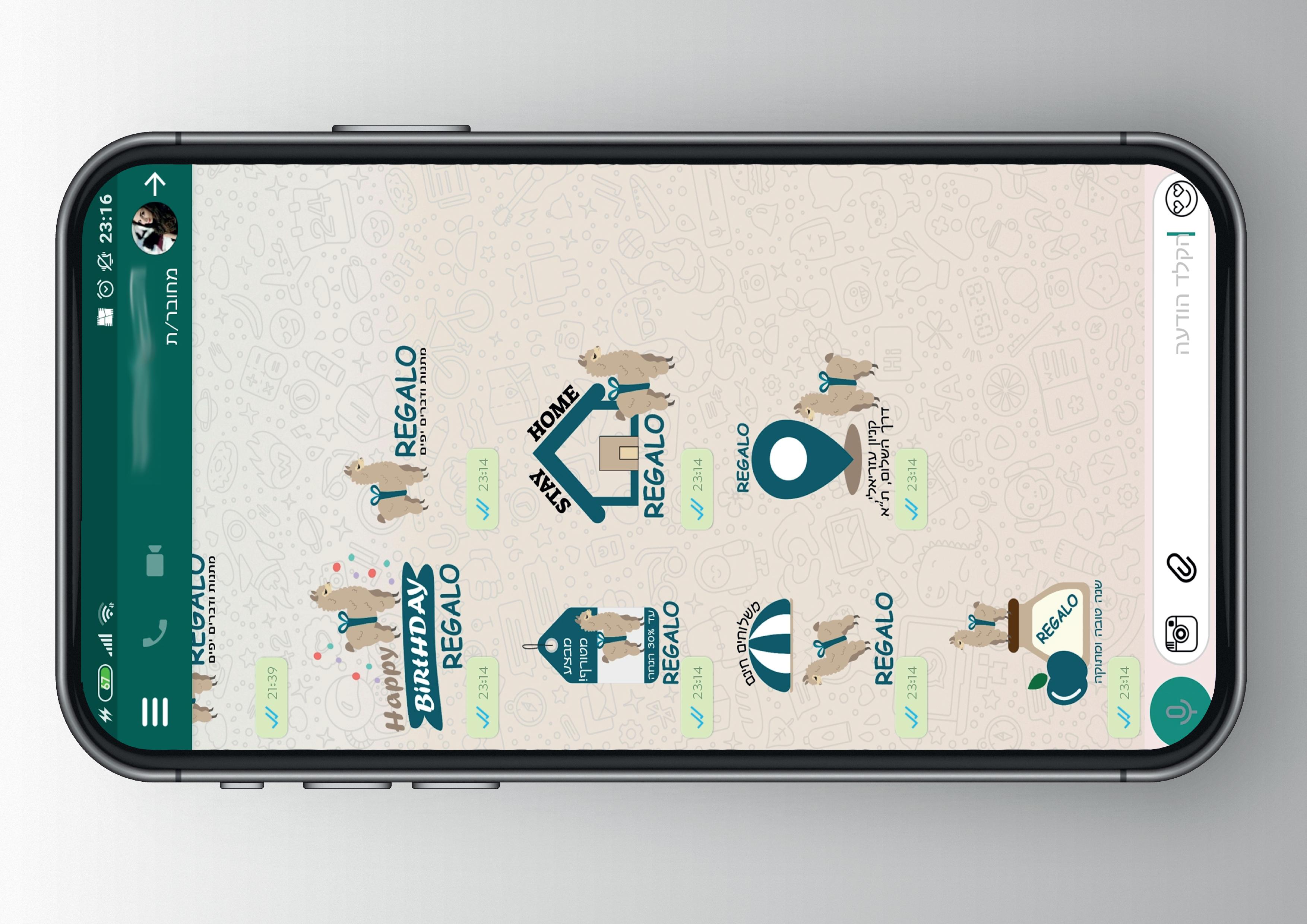 עיצוב אייקונים - לירן ברק