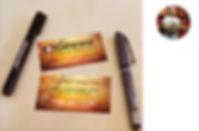 המלצה, כרטיס ביקור, גיטרה, עט