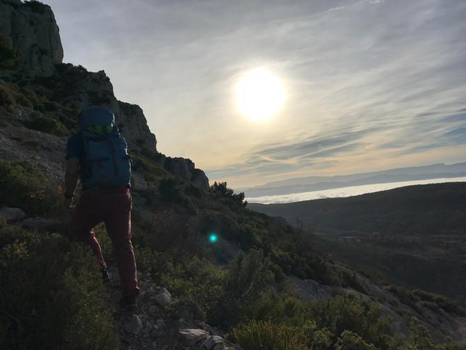 Du terrain d'aventure dans toute sa plandeur ! Le pilier du puits - Massif Sainte Victoire