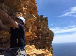 grande voie à Cap Canaille