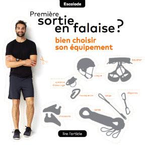 [REVUE DE PRESSE / AMBASSADEUR] Quel équipement acheter pour une sortie en falaise ?