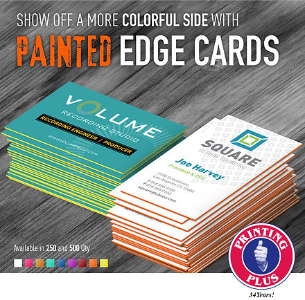 Painted Edge Business Crads