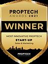 Proptech Awards Badge_Winner_Start-Up_Sa