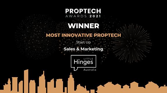 Proptech Awards 2021 Winner - Little Hin