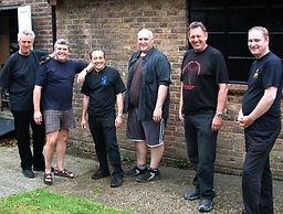 John Arnold, Derek McLean, Steve Pavey, Dean Bridger, Laurie Moody & Martin O'Hara