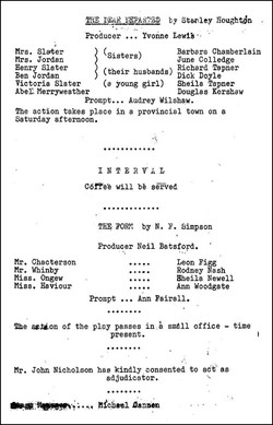The Dear Departed programme