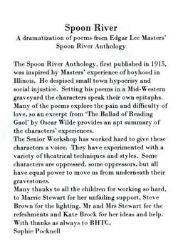 Spoon River programme