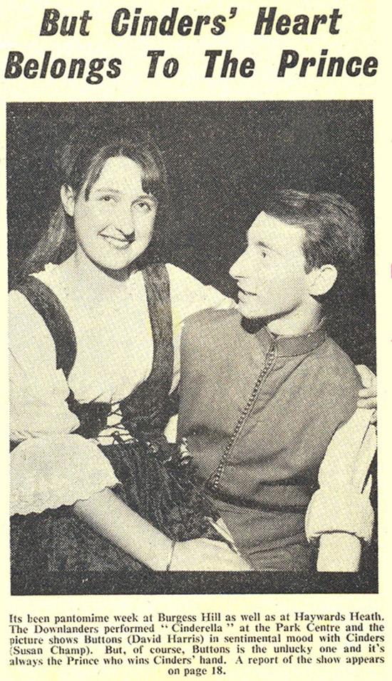 Cinderella 1965 press article