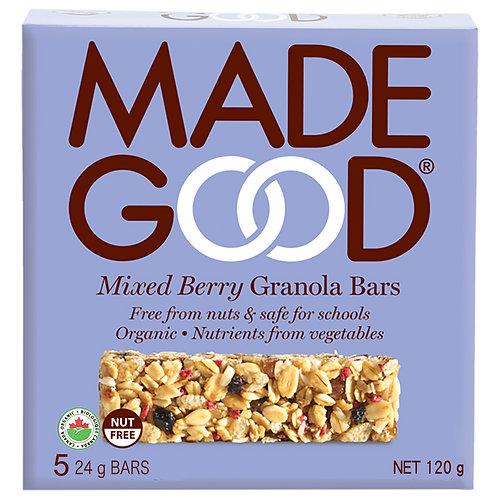 Madegood有機混合漿果燕麥棒-120克x 2