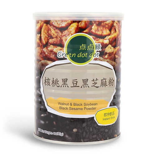 Green DOT DOT Walnut Black Bean And Black Sesame Powder -400g