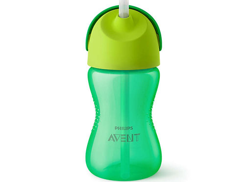 Philips Avent 12M+ Straw Cup - Green (300mL)