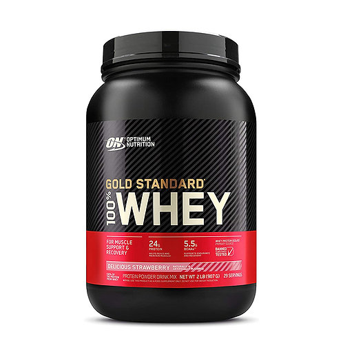 ON 100% Gold Standard Whey Strawberry - 2lbs